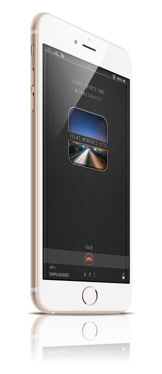 Download Arc LS Simple widget i6 plus 1.0