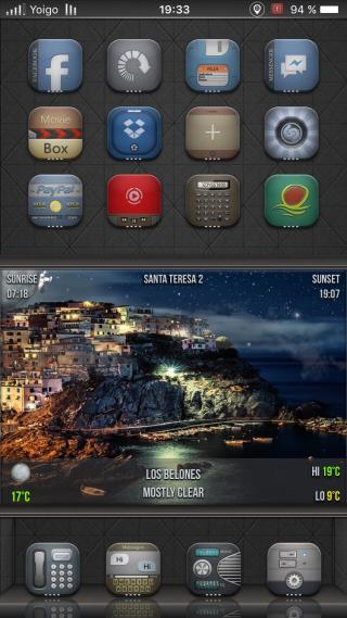 Download Arc SB widgets ios10 1.0