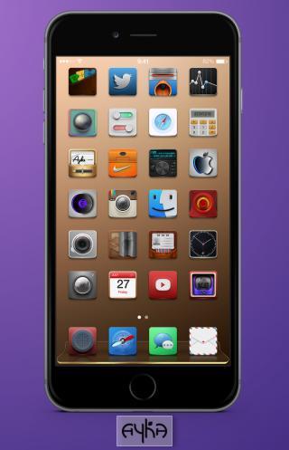 Download Ayka Dock iOS8 1.0
