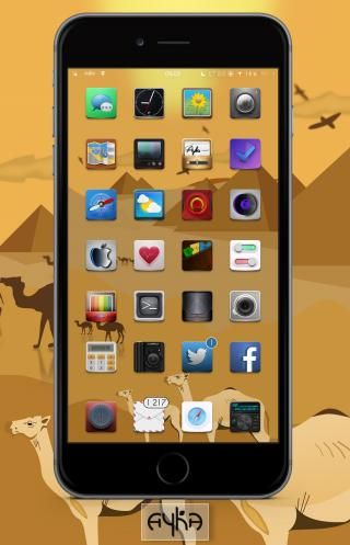 Download Ayka Wall i4 iOS7 1.0