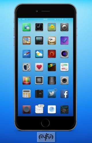 Download Ayka Wall i5 iOS7 1.0