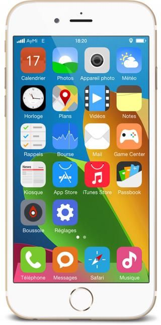 Download AyMi iOS8 1.4