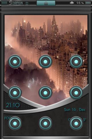 Download B1ackScorpion AndroidLock theme 1.0