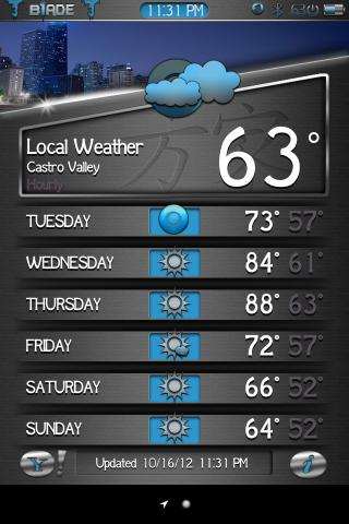Download b1ade Weather Theme 1.0