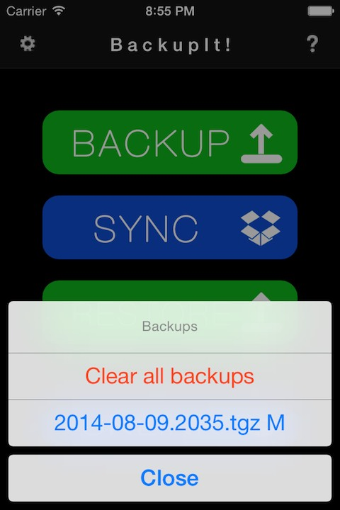 Download BackupIt 3.5
