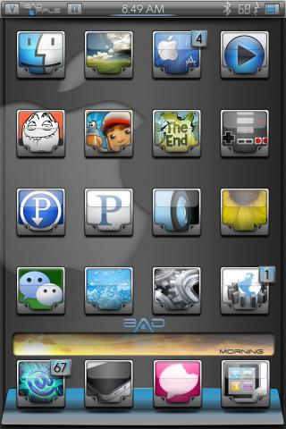 Download bAdApple 4x4 Springboard Options 1.0