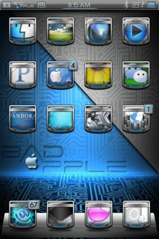 Download bAdApple NO Icon Labels 1.0