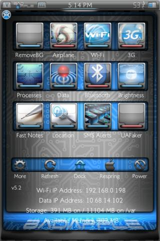 Download bAdApple SBSettings 1.0