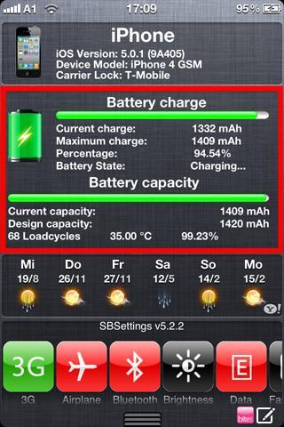 Download BatteryInfo for Notification Center 1.5-1k