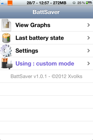 Download BattSaver for iOS 7 2.0.9