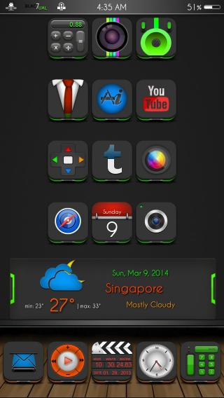 Download BLAc7uaL GreeN 1.0