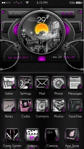 Download Black5id3iOS7-Purple 1.0