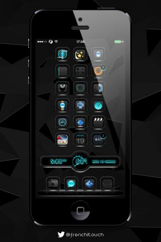 Download BlackEdition iWidgets iOS7 1.0