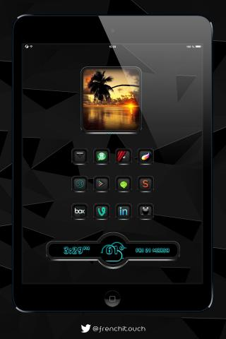 Download BlackEdition iwidgets iPad 1.0