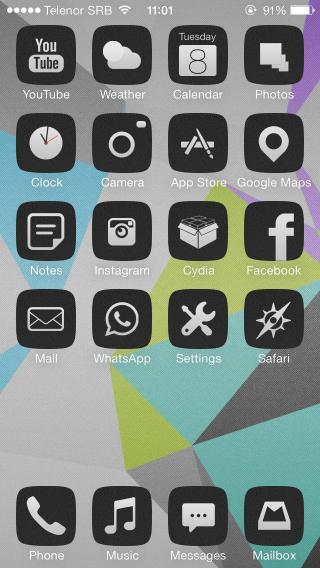 Download blacker iOS7 2.1