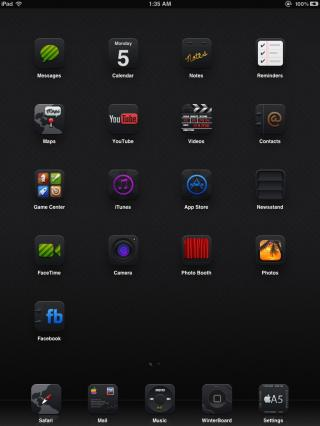 Download Black UPS Darkness iPad 1.0