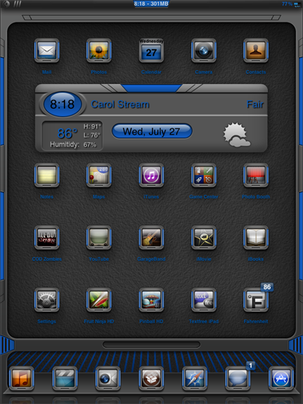 Download blAze Blue iPad 1.6
