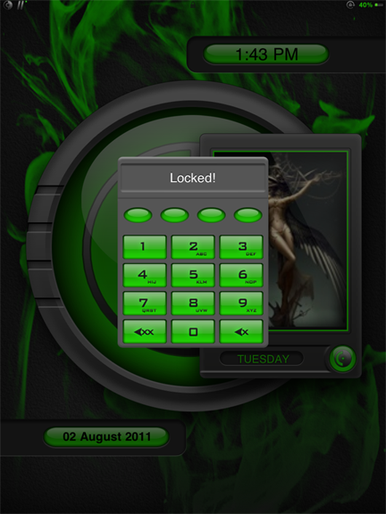 Download blAze Green iPad 1.6