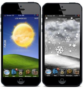 Download Bliss iP5 Live Animated Weather HomeScreen 1.2