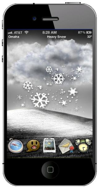 Download Bliss Live Weather HD 4 & 4s iOS5 1.0