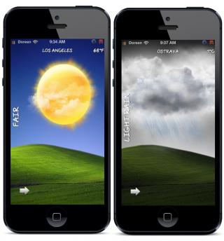Download Bliss Live Weather iPhone 5 iOS6 1.2