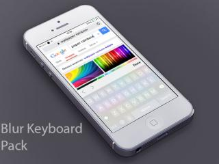 Download Blur Keyboard Pack 1.0.3