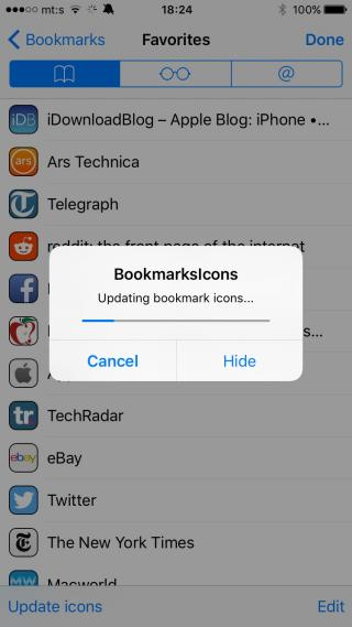 Download BookmarksIcons 1.2.1-8