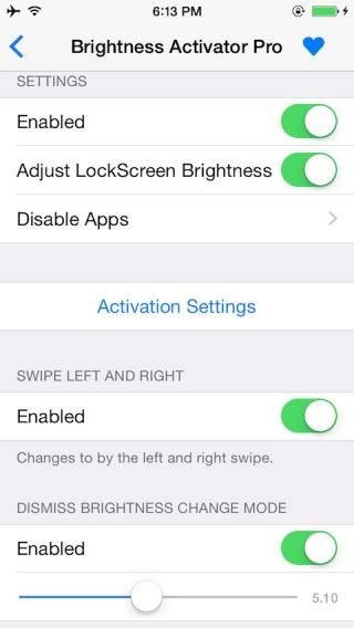 Download Brightness Activator Pro 2 (iOS8/9/10) 1.0-6