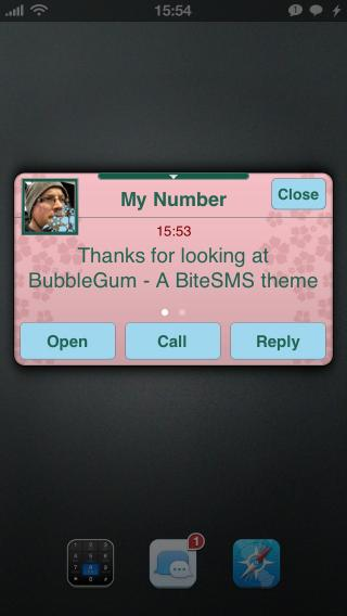 Download BubbleGum BiteSMS Theme 1.3