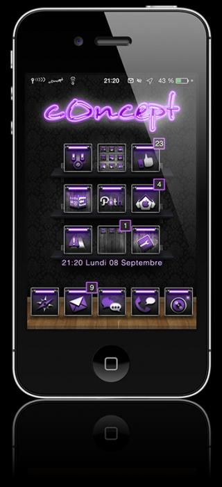 Download c0ncept Violet 1.0