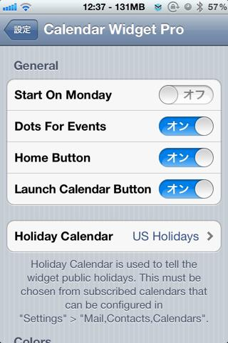 Download Calendar Pro for NotificationCenter 1.3-2