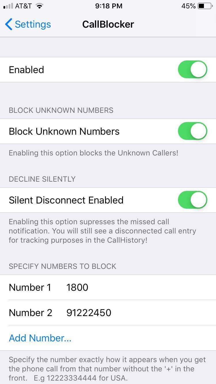 Download Call Blocker 2.0.3