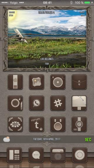 Download Cappuccino SB widgets ios10 1.0