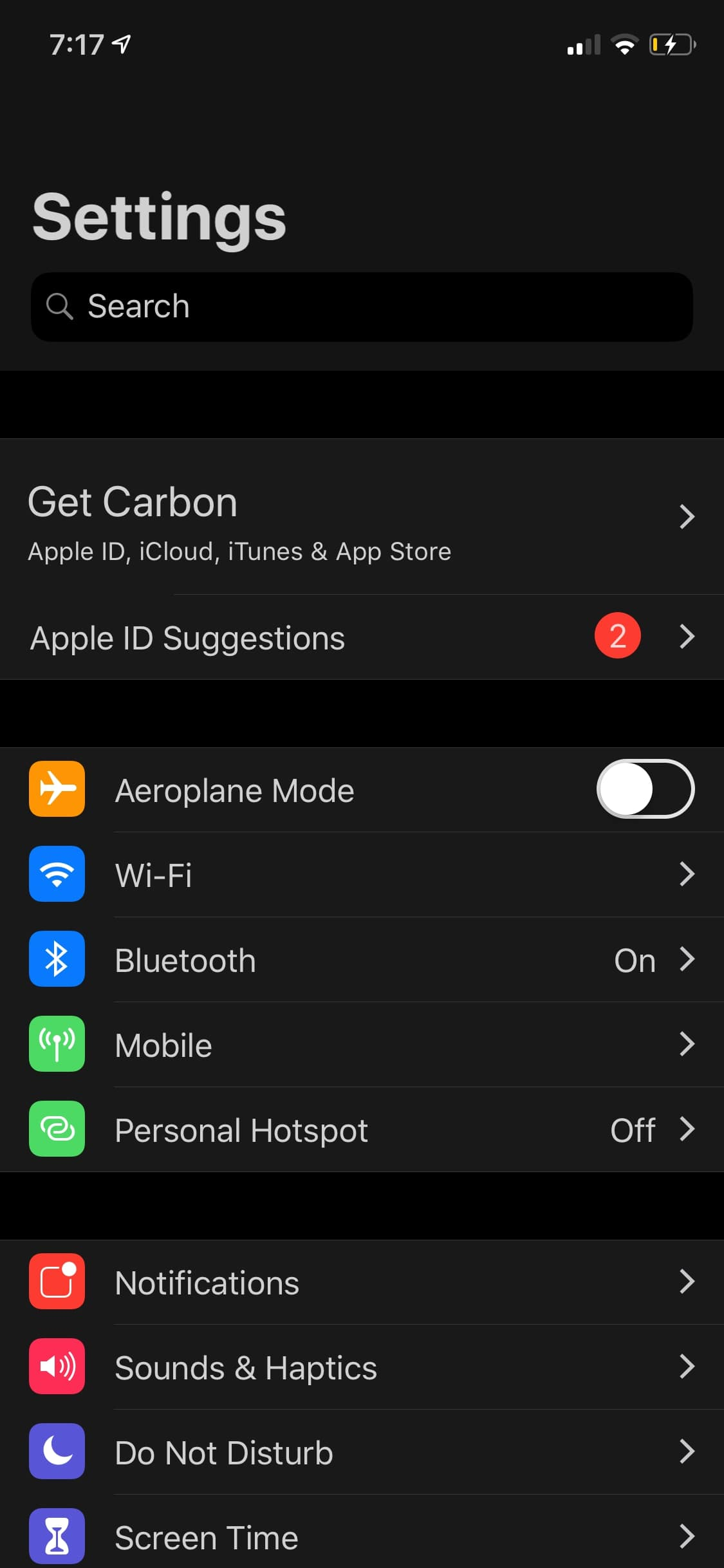 Download Carbon Dark Mode 1.5