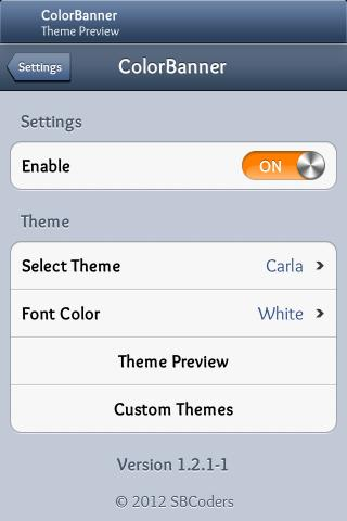 Download Carla ColorBanner Theme 1.2