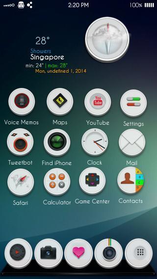 Download Cerk0L-8 Blue UI 1.0
