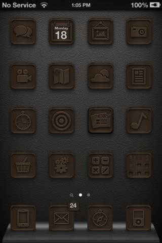 Download chocolateHD candy glyphs 1.0