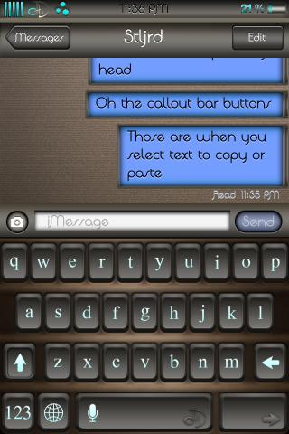 Download chocolateHD ColorKeyboard 1.2