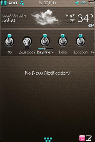 Download chocolateHD SBSettings 1.0