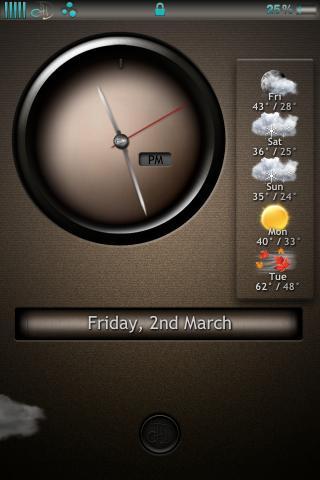 Download chocolateHD UNIAW Lockscreen 1.0