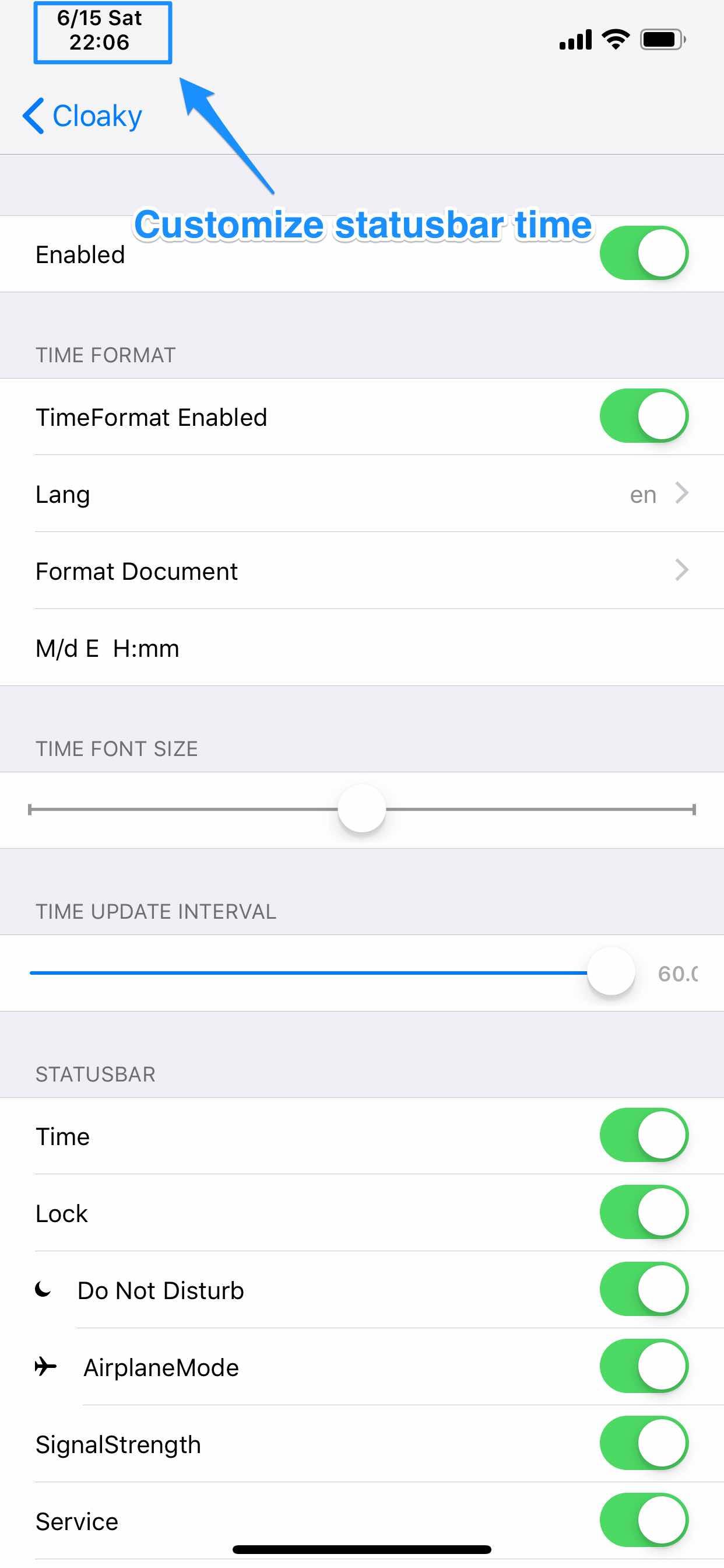 Download Cloaky (iOS 12) 6.1k