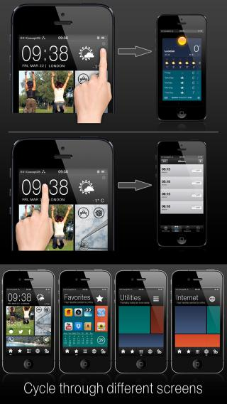 Download ConceptOS iPhone 4S 1.1