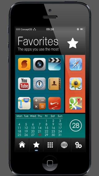Download ConceptOS iPhone 5 1.1