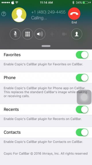 Download Copic For CallBar 2 1.0.2k