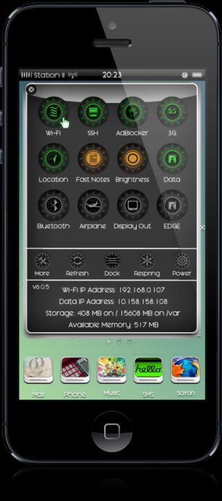 Download Daira HD NC & SBSettings 1.0