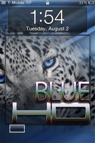 Download Dark Blue Theme iPhone 4 1.0