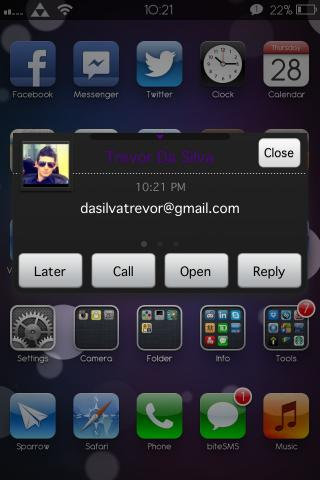 Download Dark n Purple BiteSMS Theme 1.0