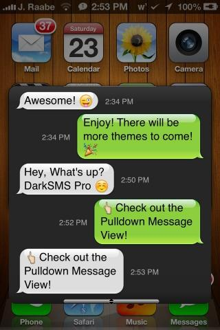 Download DarkSMS Pro 1.0