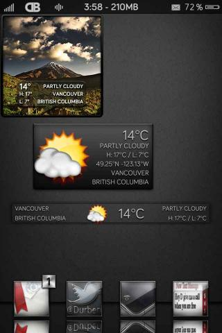 Download DB iWidget Pack 1.3