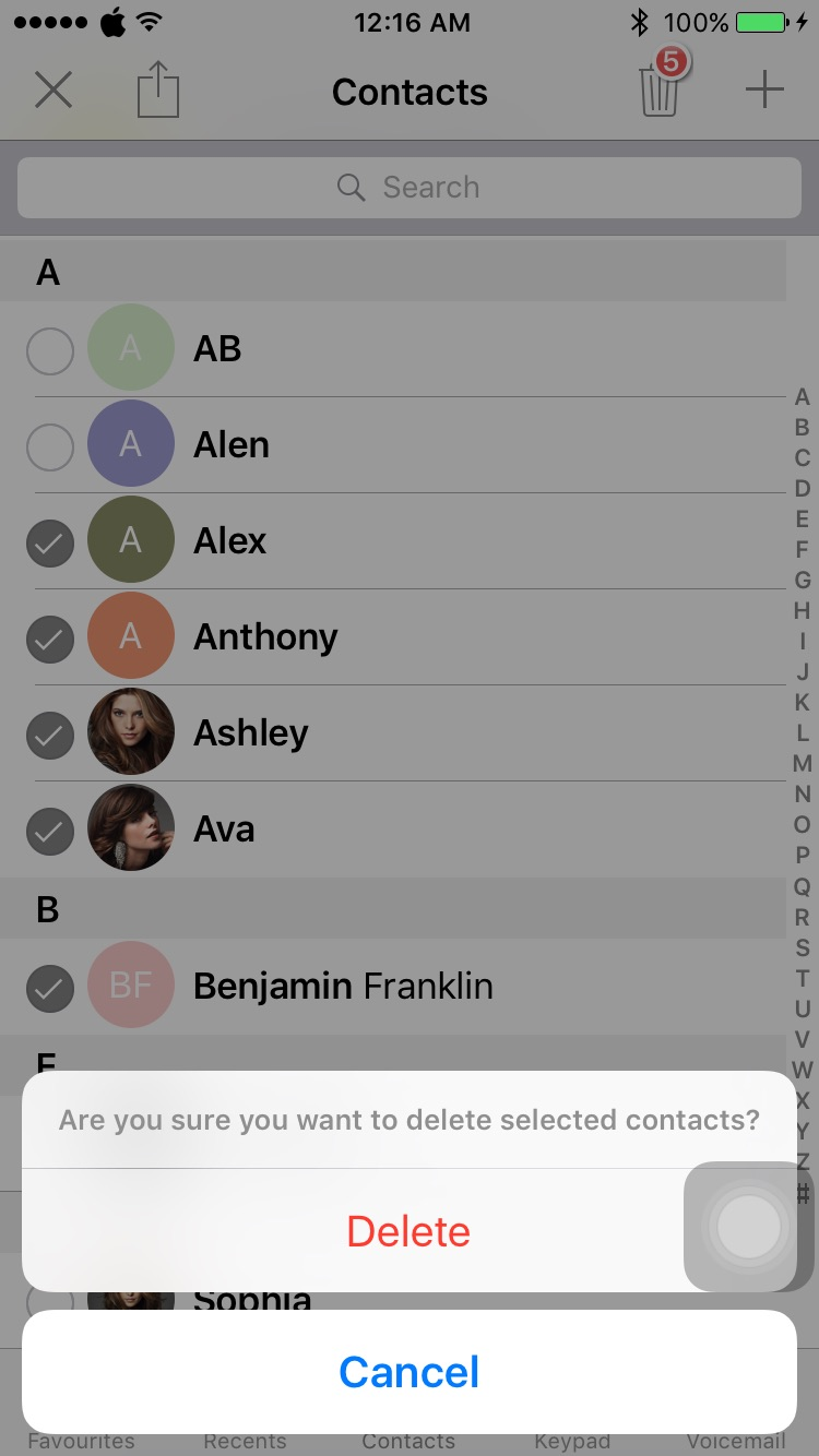 Download Delete Contact 1.5-beta-3k